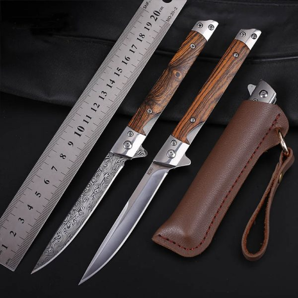 ZK30 Folding/ Hunting Camping Folding Knife [3Cr13 Mov Blade Knife Tactical Outdoor Military Knife EDC Multi Tool]