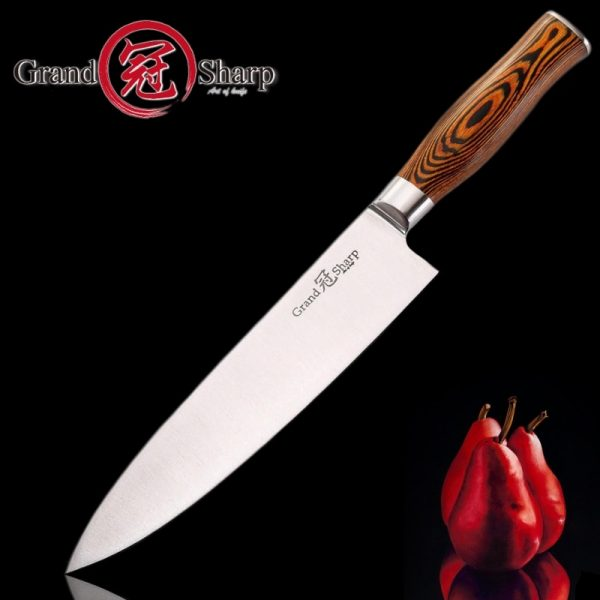 High Quality German 1.4116 Stainless Steel Chef Knife