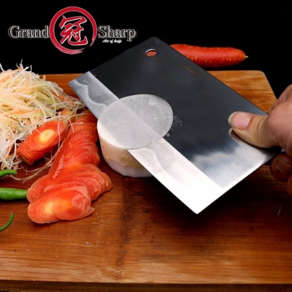 Professional Handmade Forged Chinese Cleaver High Carbon Stainless Steel Cleaver Chef Knife