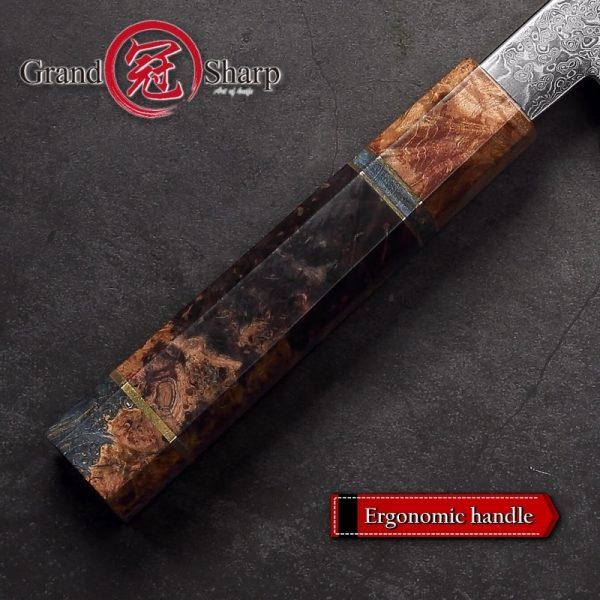 Handmade Japanese Chef Knife VG10 Kiritsuke Knife Premium Chef
